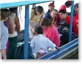 Clinic on River boat